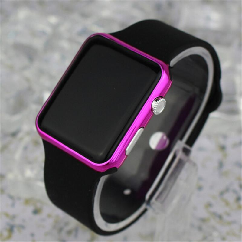 TIMARCO Black Purple sanda sport watch women ladies brand electronic wristwatch led digital wrist watches female clock montre femme relogio feminino