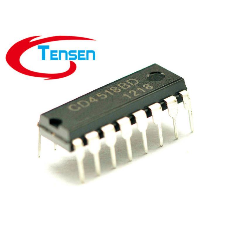 IC 500pcs lot cd4518be cd4518 dip 16
