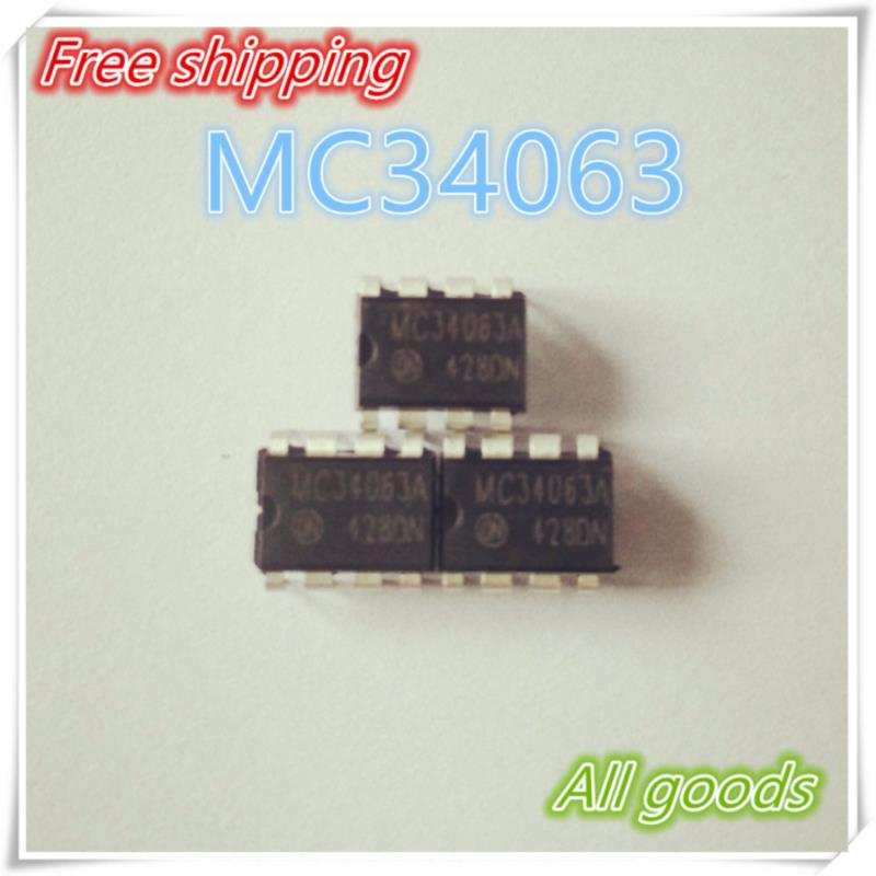 IC free shipping 10pcs lot mc34063api dip8 mc34063ap1 dip mc34063 34063api new and original ic free shipping