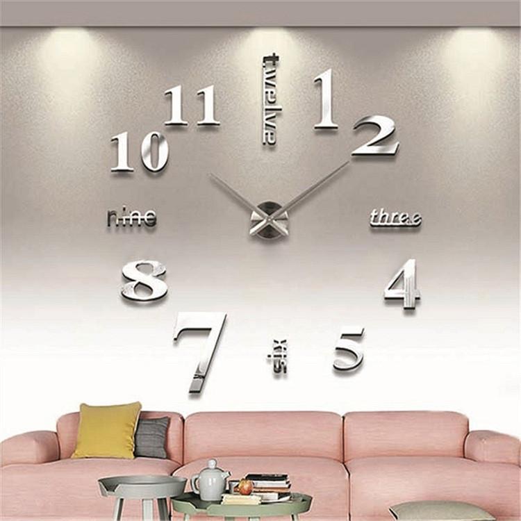 suwumu Серебристый цвет настенные часы русалочка