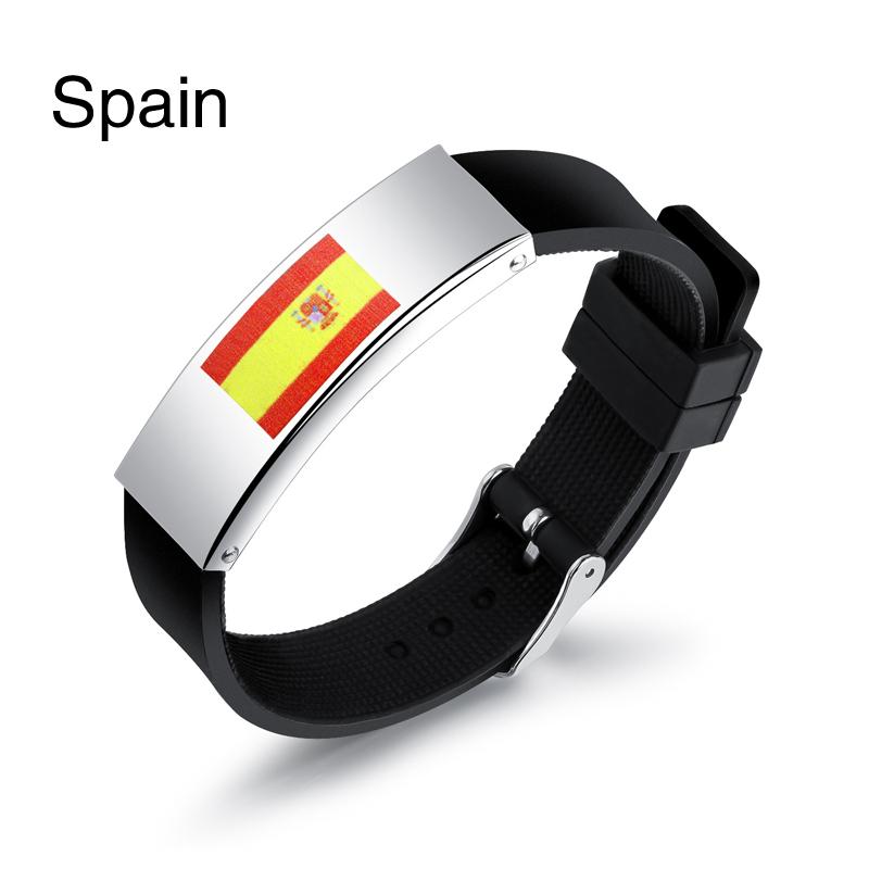 Colorful panda Испания u7 широкий браслет часов реального позолоченные моды мужчин украшения оптовой новой модной уникальный 1 5 см 20 см звено цепи браслеты
