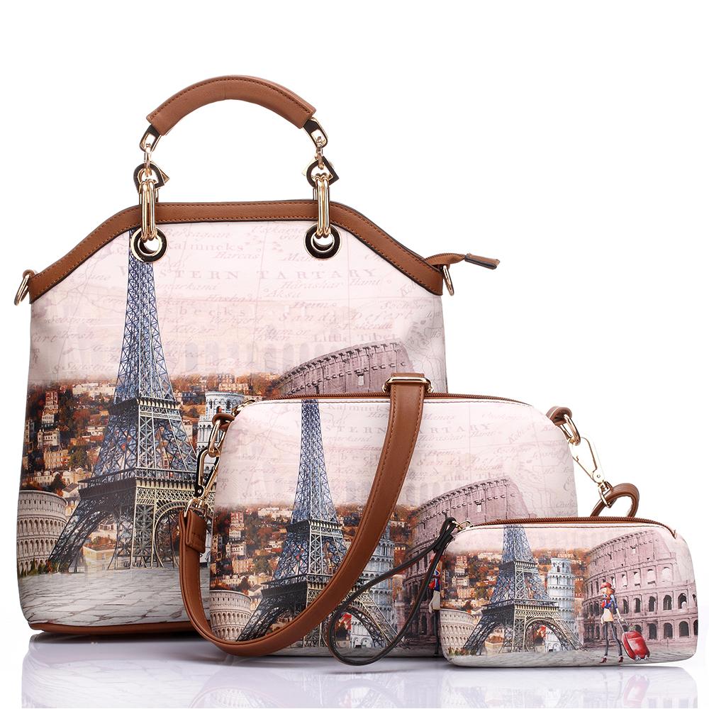 Женские сумки на ремне Aliwilliam Белый цвет