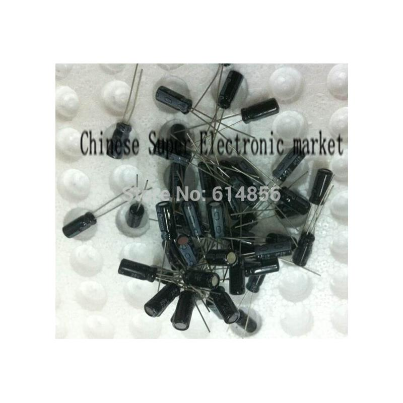 IC aluminum electrolytic capacitor for diy project 120 piece pack