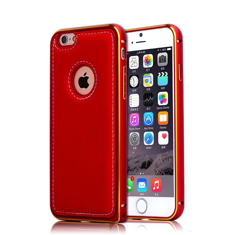 BRG Красный iPhone 6 телефон защита жесткого пластика задняя крышка встроенная кожи чехол для samsung galaxy a5 красное облако