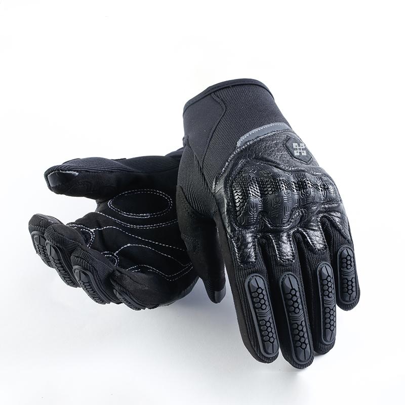 Перчатки мотоциклетные Перчатки мотоциклетные MTB велосипедные перчатки пружинные мотоциклетные перчатки Roaming черный M фото