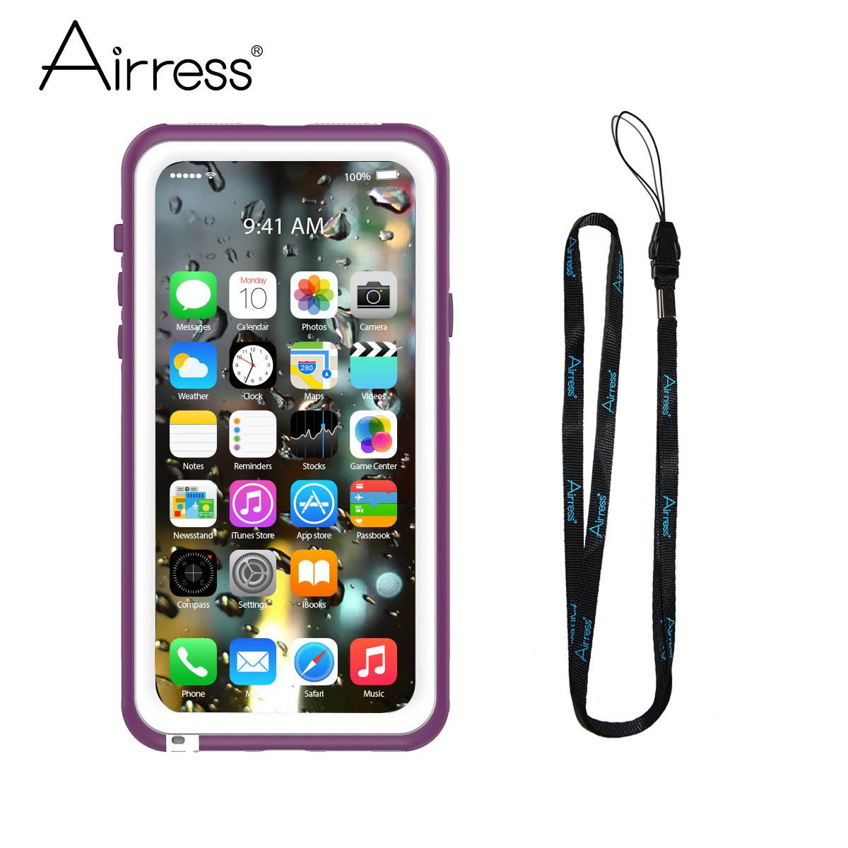 Airress Пурпурный iPhone X