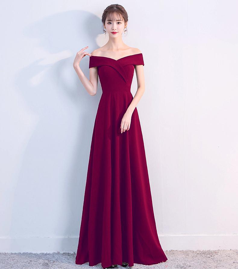 Вечернее платье Robe De Soiree Mermaid Kalinnu Красное вино S фото
