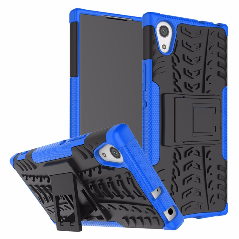 goowiiz синий Sony Xperia XA1 Plus аксессуар защитное стекло sony xperia xa1 luxcase 0 33mm 82170