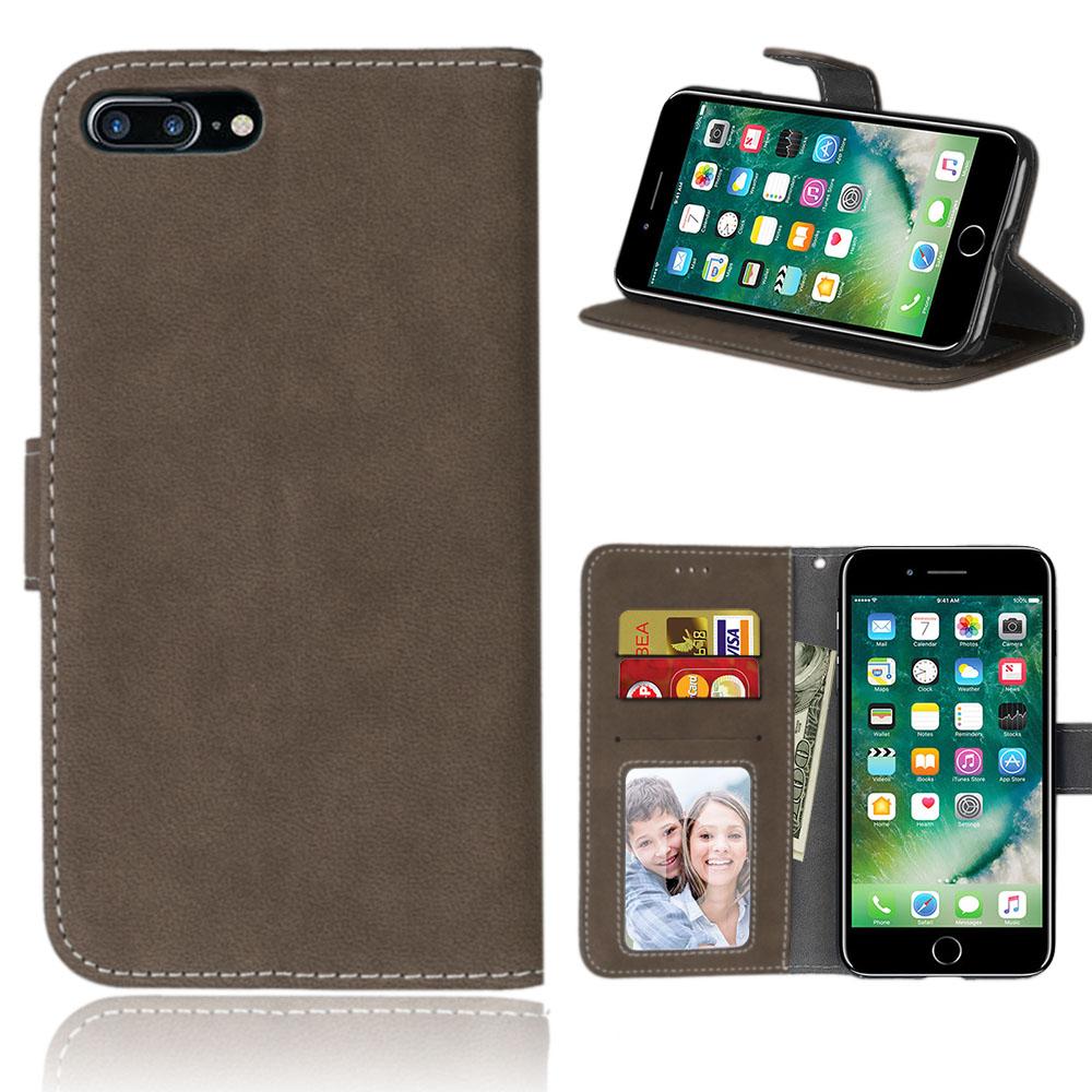 CXLYKZ Темно коричневый iPhone7 Plus  8Plus 55inch