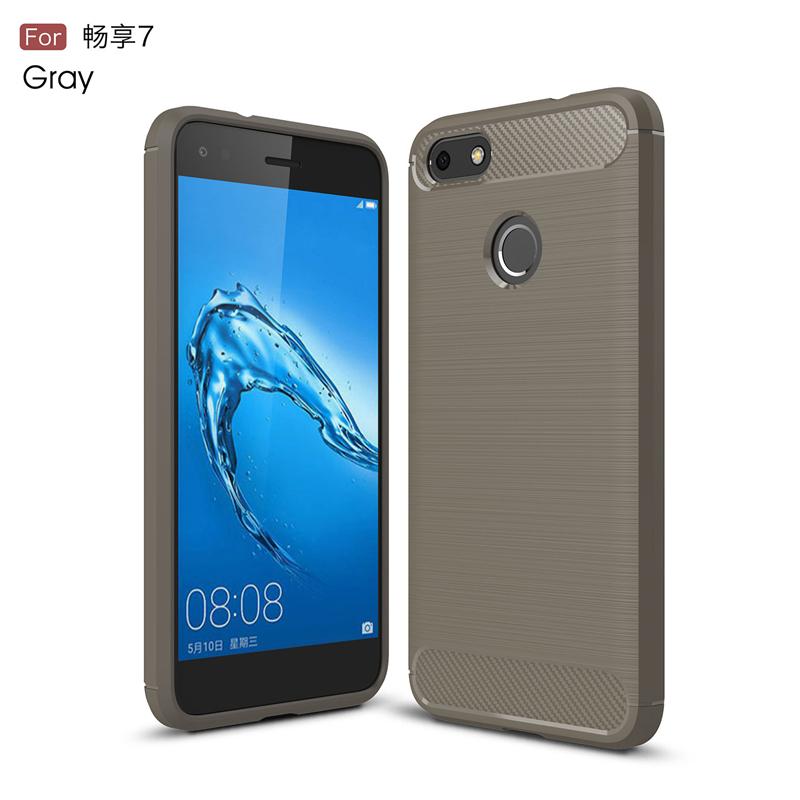 goowiiz Серый HUAWEI Enjoy 7 P9 Lite Mini Y6 Pro 2017 смартфон huawei y6 pro золотой
