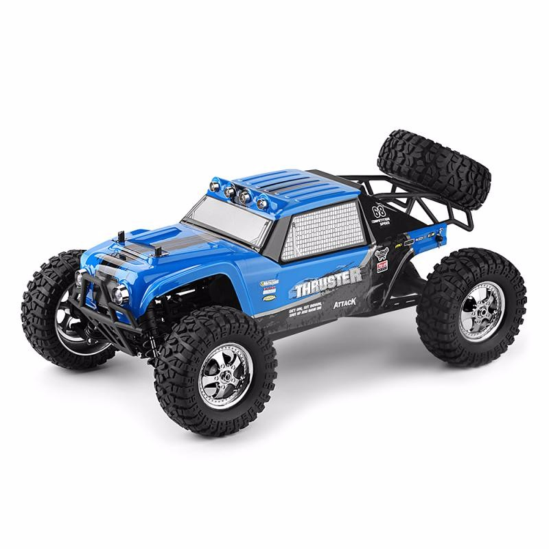 GBTIGER Blue 1 12 4wd rc cars updated version 2 4g radio control rc cars toys buggy 2017 high speed trucks off road trucks toys for children