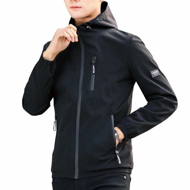 Xuanxuan diary Black XL yoms куртки мужские куртки с длинными рукавами печати прилив корейский монах воротник молния куртки хетер грей xl 180