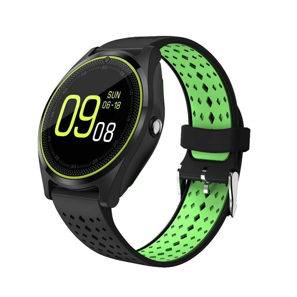 chkj Зеленый цвет черный цвет 438mm uwatch bluetooth smart watch wristwatch with gps pedometer smartwatch wearable devices for android phone relojes inteligentes