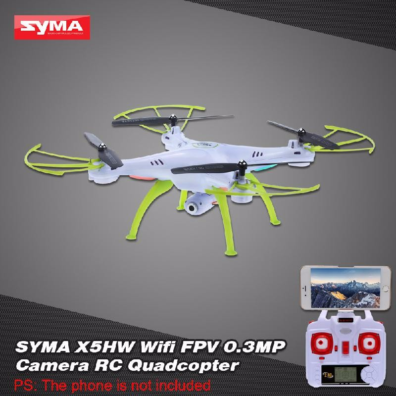GoolRC White free shipping rc drone jjrc v686k 6 axis gyro 2 4g 4ch fpv quadcopter wifi ufo with hd camera airplane vs syma x8w h9d cx 30w