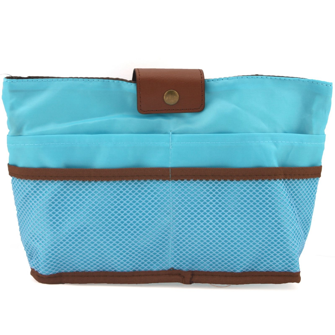 NicerDicer Синий цвет женская сумка организатор поездки функцию хранения дело по телефону косметические нуждается в темно красный