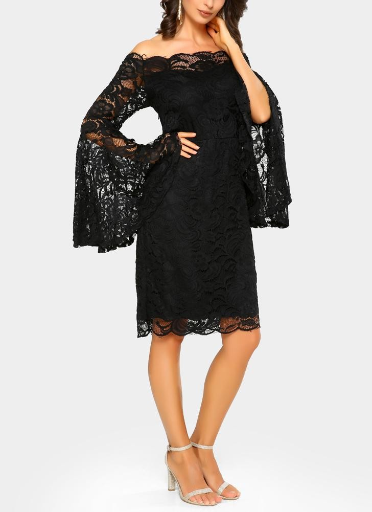Платье для выпускного вечера малыш платье черный S фото
