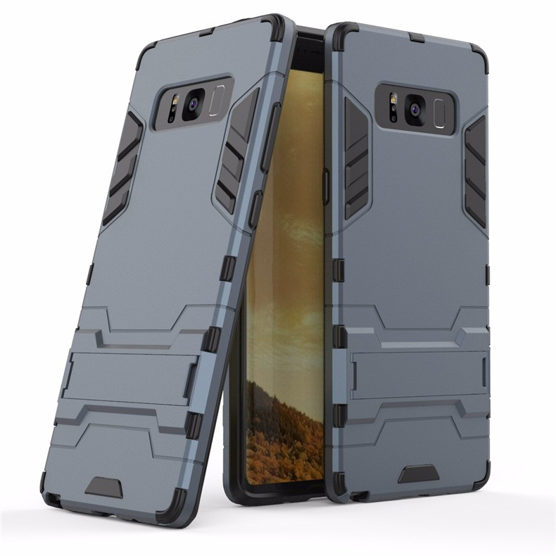 WIERSS Темно-синий для Samsung Galaxy Note8 Shockproof Hard Phone Case для Samsung Galaxy Note8 Примечание 8 SM-N950 N9508 N9500