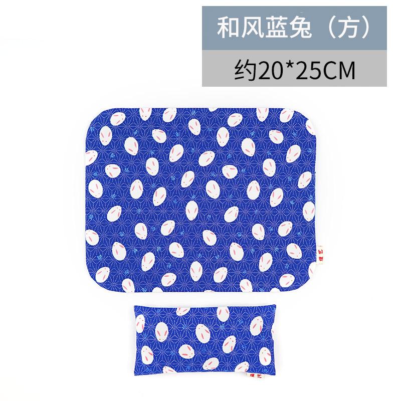 yuanyi Голубой кролик - квадратный рука съемные браслеты коврик для мыши его подушка клавиатура браслеты рука подушка запястье площадку браслеты коврик для мыши