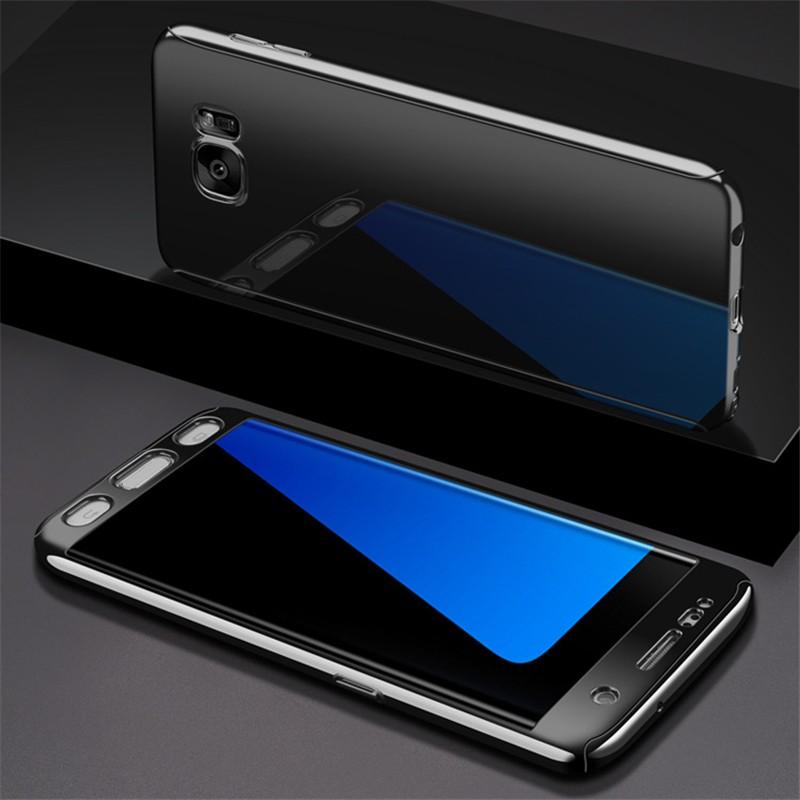 GANGXUN Black Samsung Galaxy S7 red line ibox crystal чехол для samsung galaxy s7 edge clear