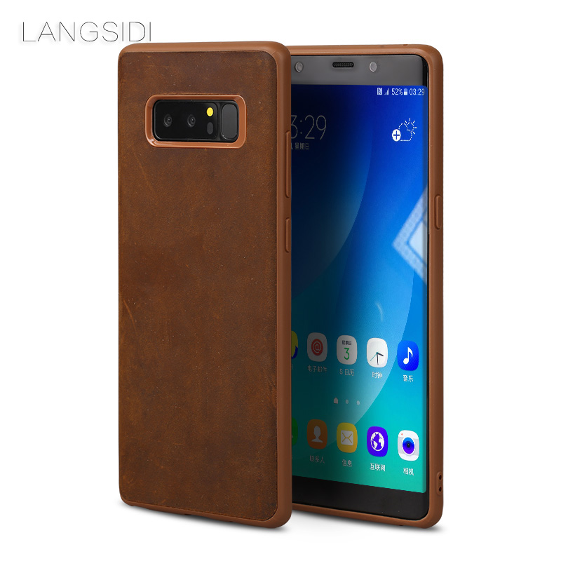 langsidi Samsung Galaxy S6 edge Plus mooncase litchi skin золото chrome hard back чехол для cover samsung galaxy s6 edge браун