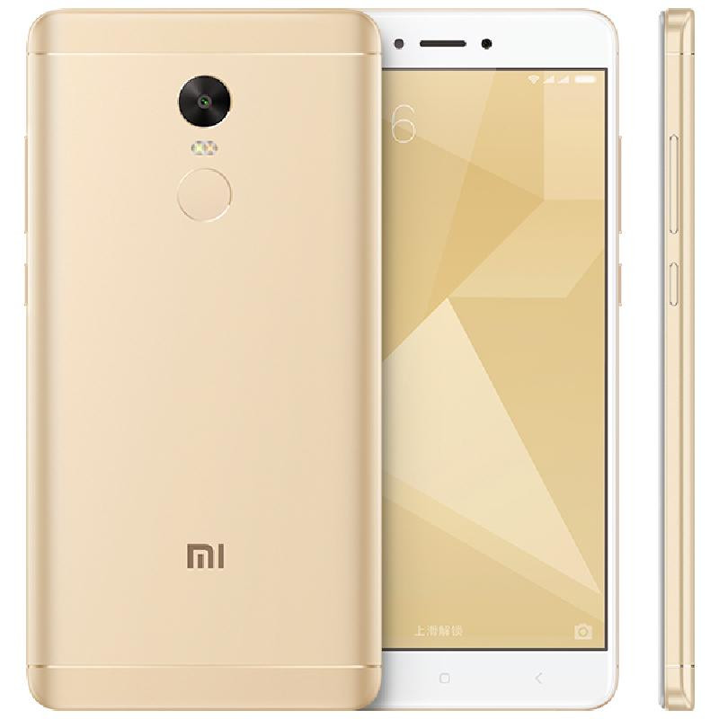 Tissbely Золото [official global rom]xiaomi redmi note 4 3gb 32gb smartphone silver