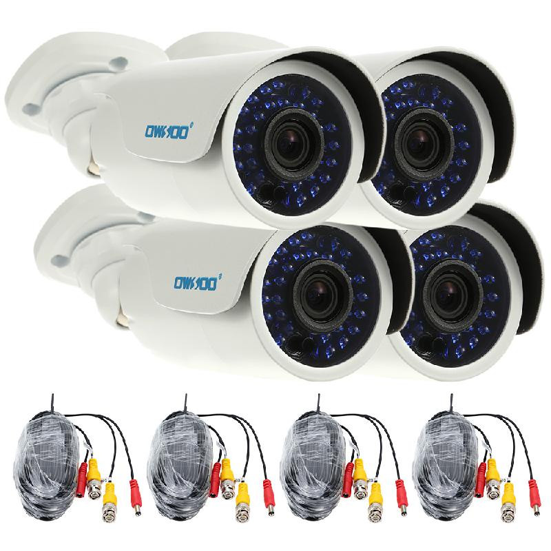 dodocool белый Стандарт США 700tvl 8ch cctv system hdmi 1080p dvr nvr kit 8pcs dome indoor home surveillance security system 8ch 1tb hdd hard drive ck 128