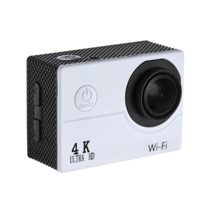 SAYHI белый action camera 4k 30fps ultra hd 1080p 120fps 20mp sports dv водонепроницаемый wifi водонепроницаемый 170 градусов