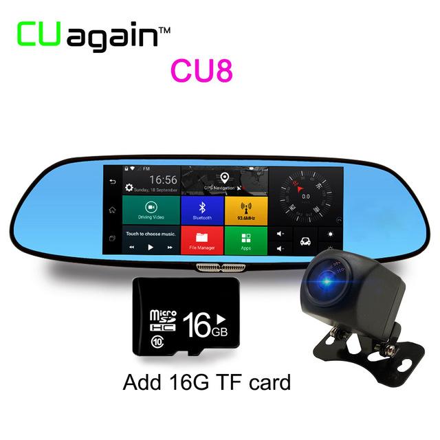 Автомобильный видеорегистратор CU08 16G 1080p автомобильный видеорегистратор cu900 16g 1080p