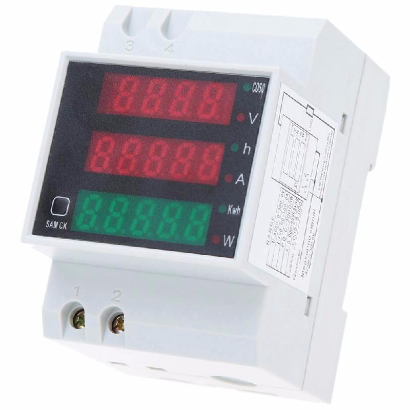 meterk White dc 4 5 30v 0 50a двойной красный светодиодный цифровой вольтметр амперметр напряжение питания amp es9p