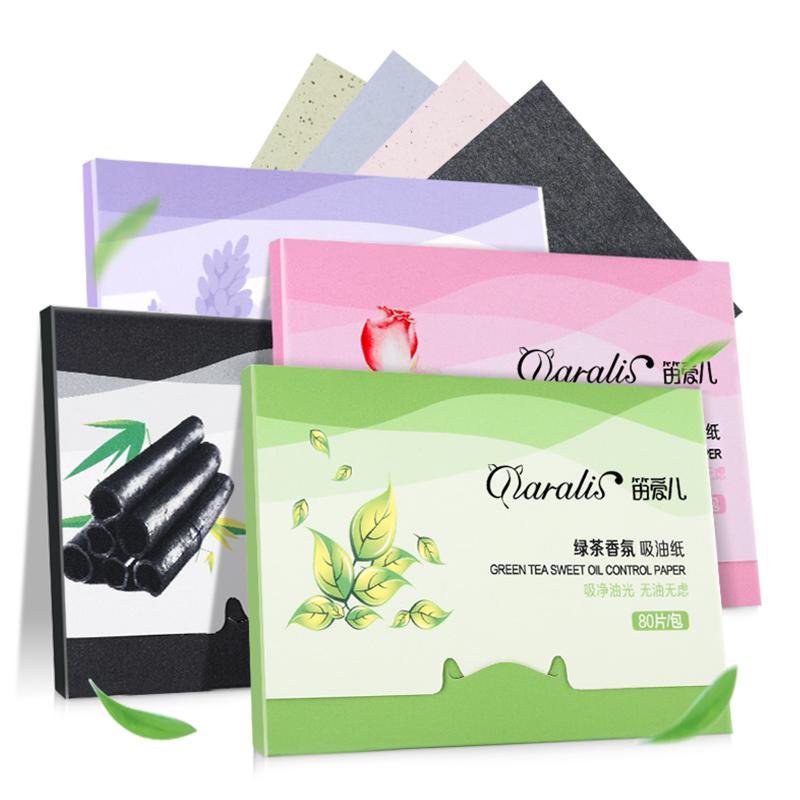 Лицевые абсорбирующие бумажные масляные листы для глубокого очищения Черная головка для удаления прыщей Акне Daralis фото