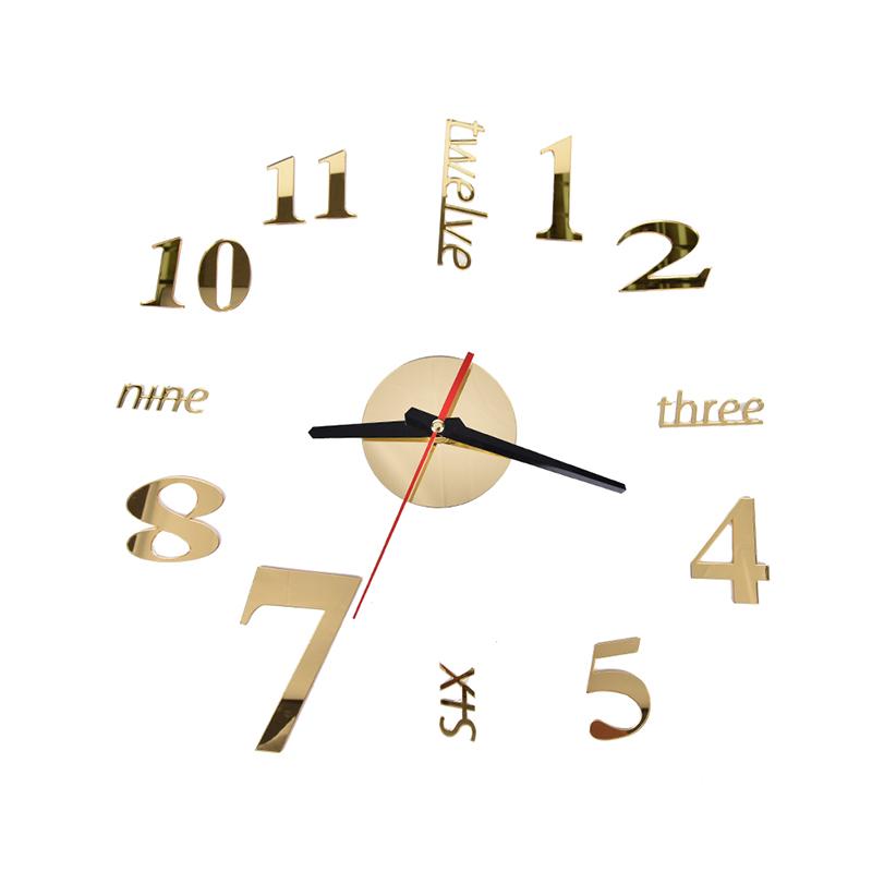 HFSHy Золото часы настенные proffi home корица