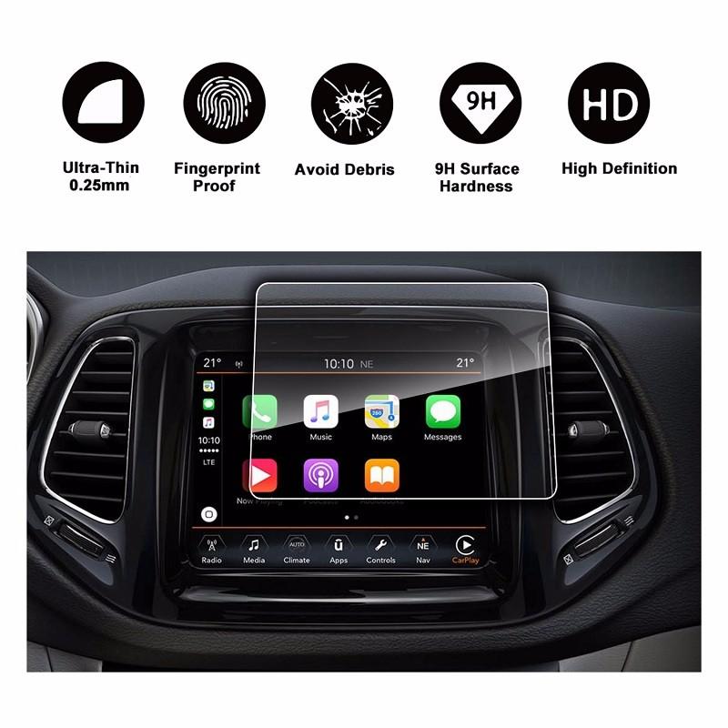 RUI YA Прозрачный цвет 2014-2019 Jeep Cherokee Uconnect