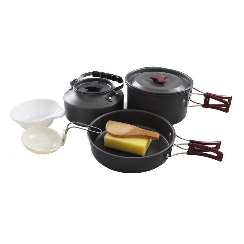 JD Коллекция 2-3 человека с чайником Кухонной посудой