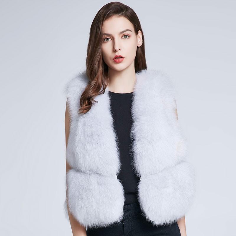 FURART белый L 2017 осень и зима новые перья хлопка жилет женщин в длинный жилет корейской версии цвета с капюшоном куртки куртки куртки