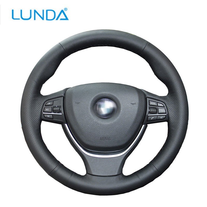 LunDa Red momo anatomic short black leather gear shifter shift knob