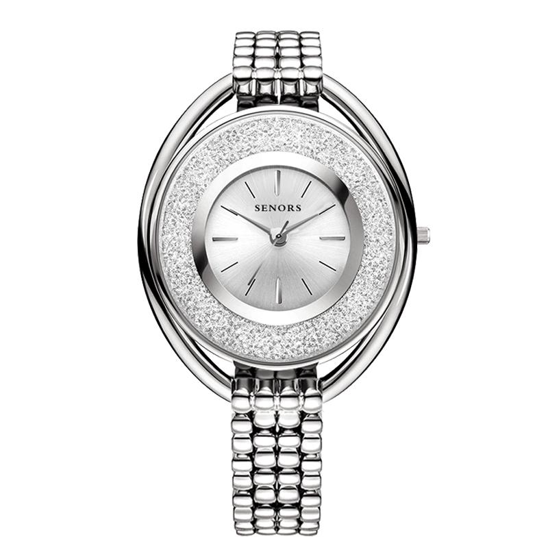 SENORS Серебряный часы наручные женские mikhail moskvin каприз цвет черный 600 11 4