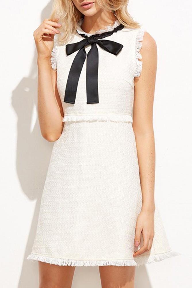 Платье для выпускного вечера малыш платье белый L фото