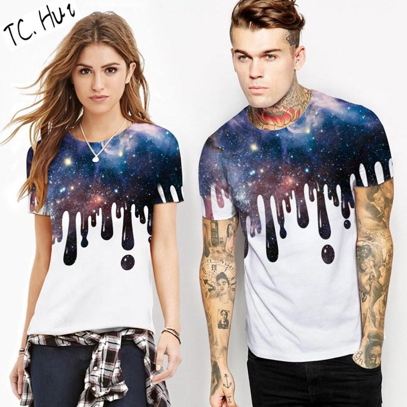 TCHui XXXL футболка женская roxy boyfriendstella j tees blue print