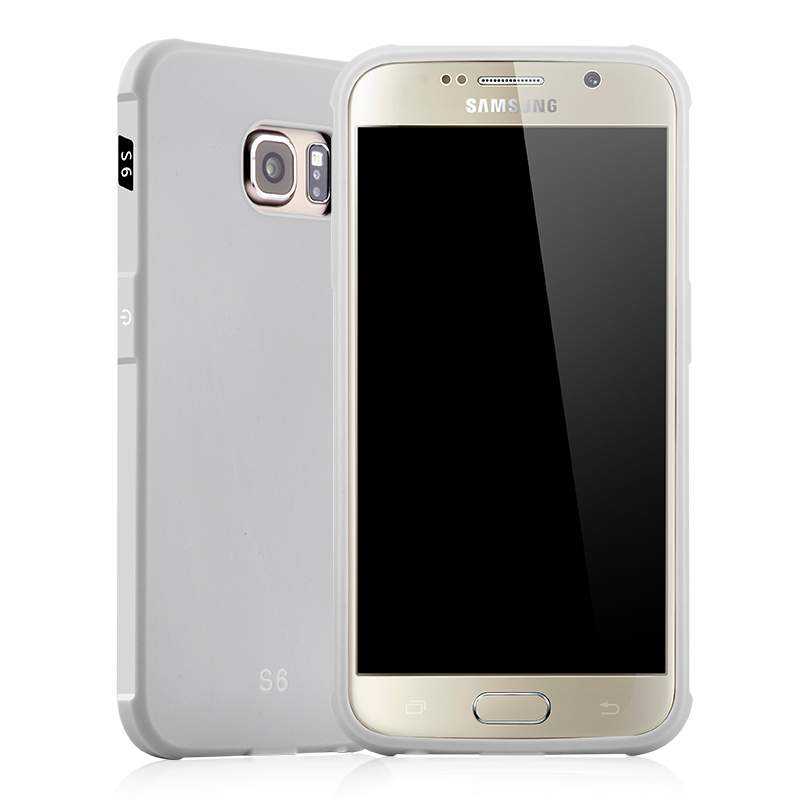 goowiiz серый Samsung Galaxy S6 край ultra slim clear phone cases for samsung galaxy s6