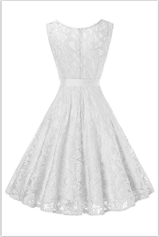 малыш платье белый L lovely o neck lace flower girl dresses 2018 без рукавов кружева appliques bow belt princess pageant kids prom dress