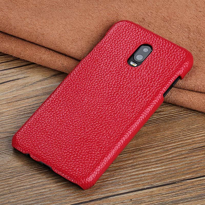 Подлинная кожа langsidi красный Samsung Galaxy S7 край фото