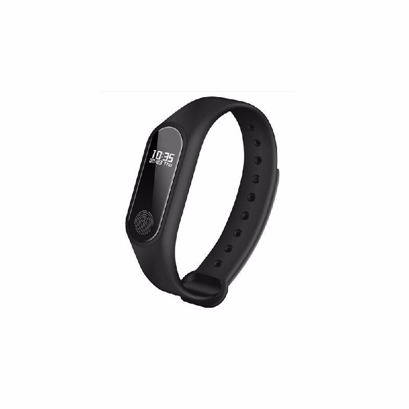 koogeek Black ot01 in stock new original wristband bracelet with smart heart rate fitness touchpad oled screen 2016