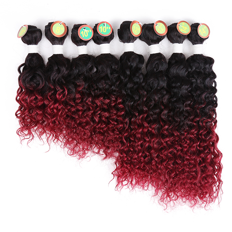 Golden Beauty T1BBurgundy 8 8 10 10 12 12 14 14 beauty hair dhl alibaba 3 8 34 m2758