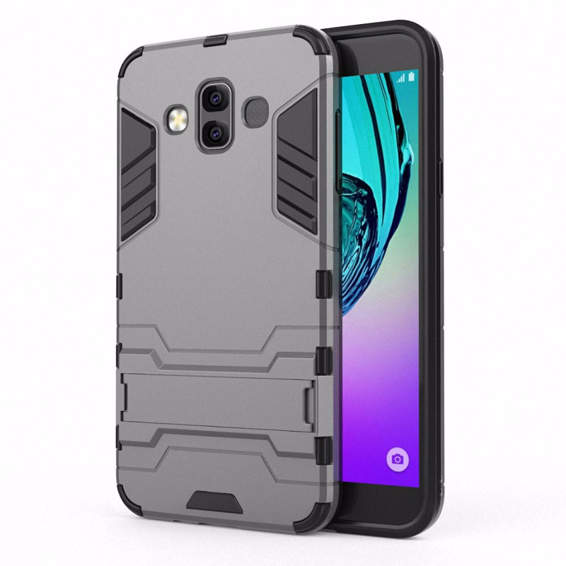 WIERSS Серый для Samsung Galaxy J7 Duo 2018 J720 смартфон samsung galaxy j7 2016 sm j710fn gold