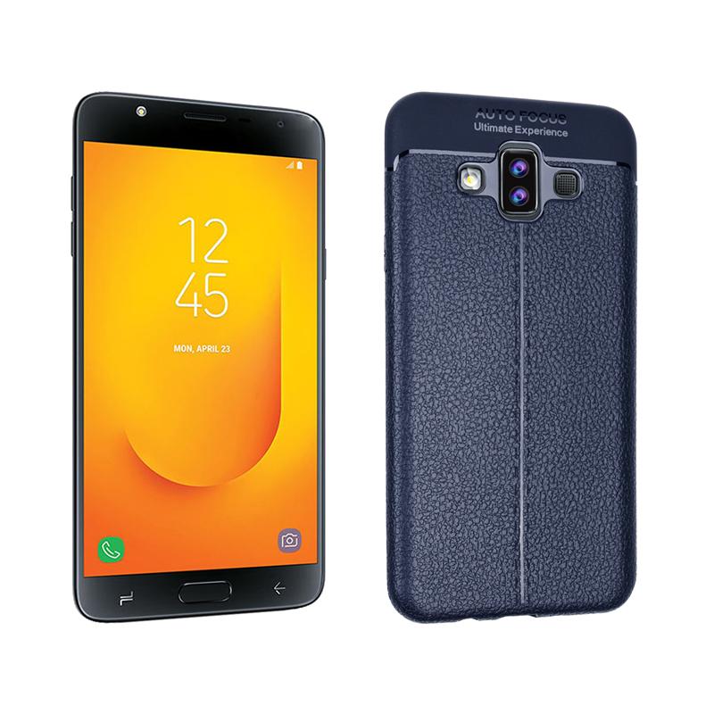 goowiiz Темно-синий Samsung Galaxy J7 Duo чехол perfeo для samsung j7 2017 tpu синий pf 5315