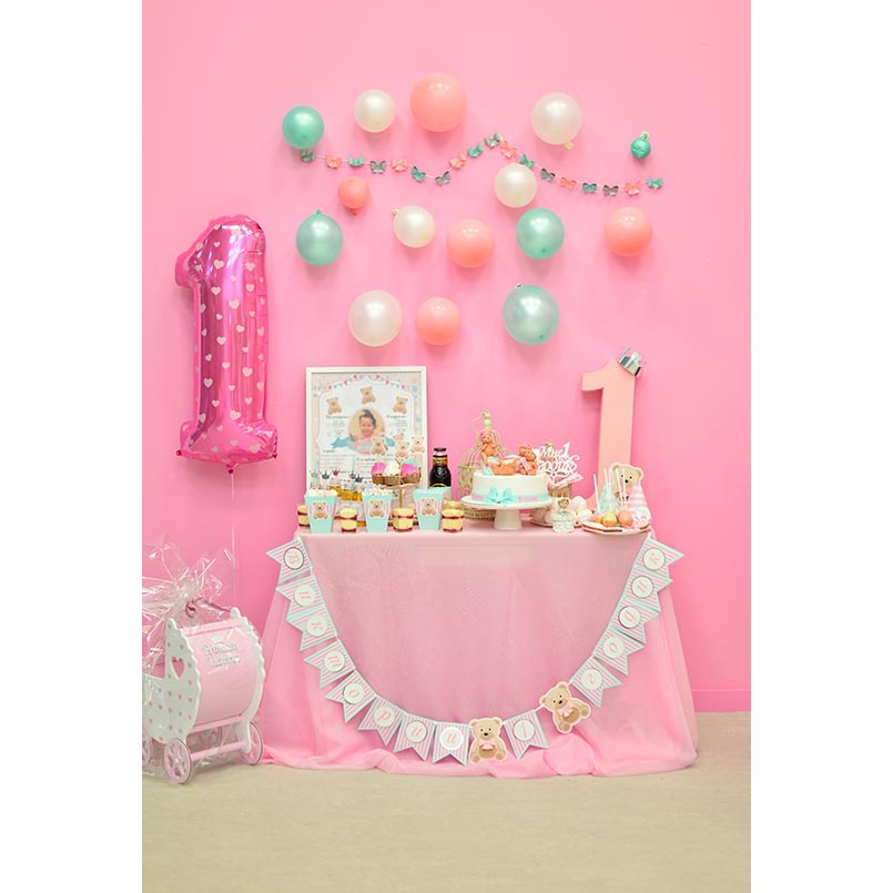 JOYOCHFOTO многоцветный 5 7ft pink birthday photo background 5 7ft vinyl fabric cloth цифровая печать photo studio backdrop s 3140