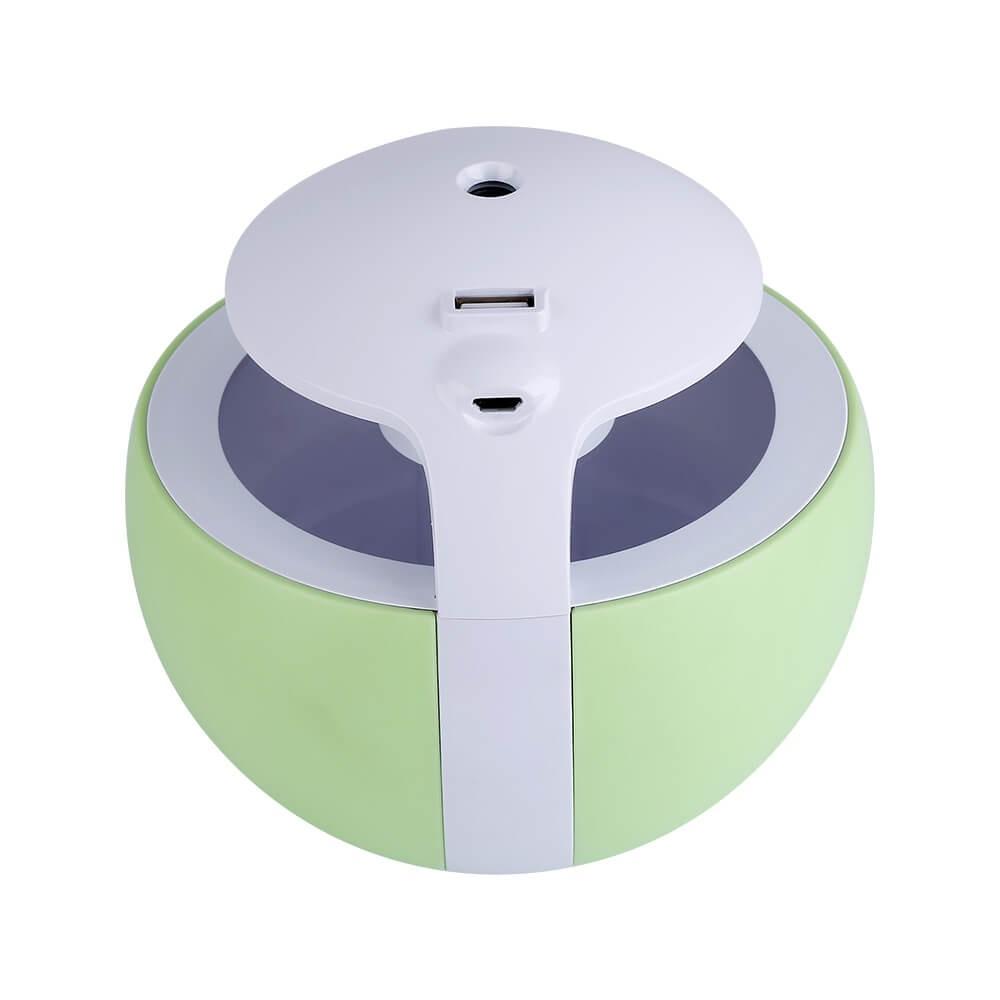TOMNEW зеленый TOMNEW 3 в 1 USB Mini Cool Mist Увлажнитель 450 мл Ультразвуковой двухступенчатый
