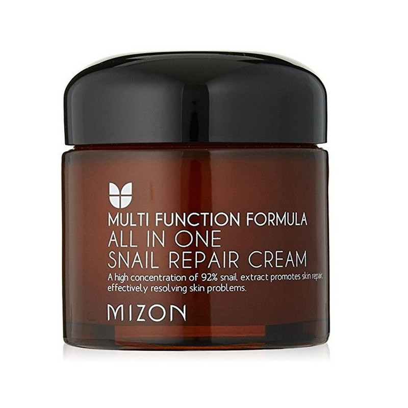 Мизон mizon black snail all in one cream 75ml repair cream deep moisturizing anti wrinkle remover acne snail face cream korea cosmetic