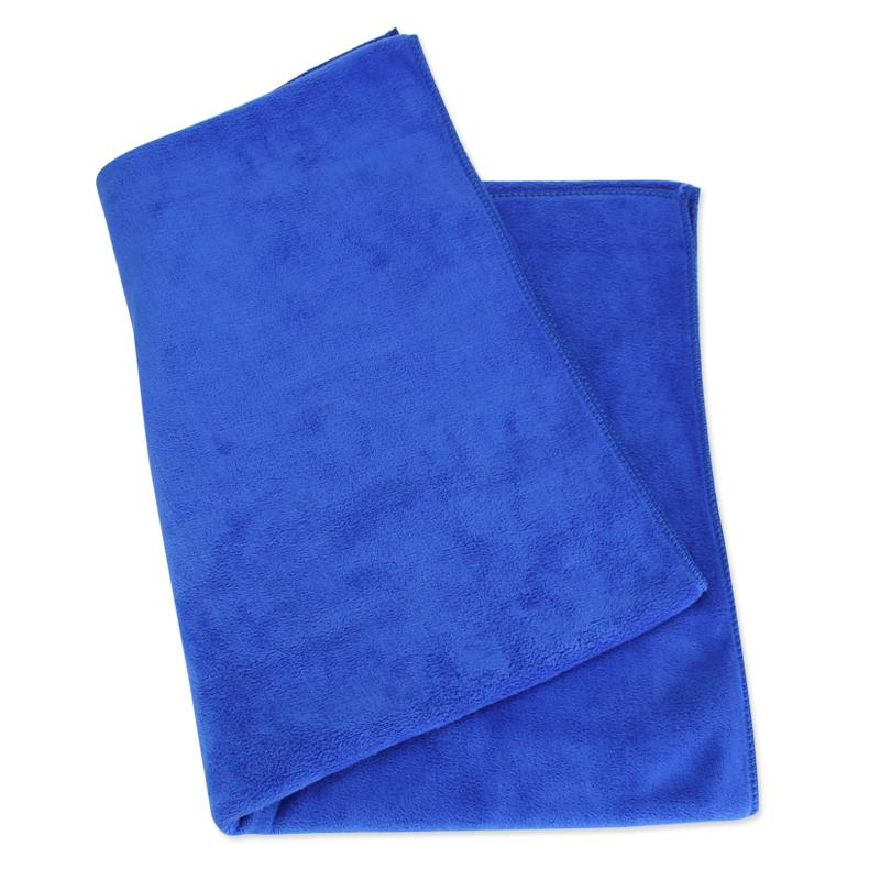 JD Коллекция Большой Microfiber полотенце темно-синий