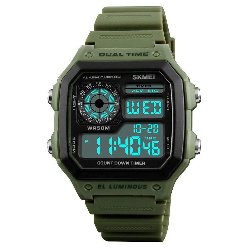 SANDN зеленый мужские часы mikhail moskvin gepard 1238a11l1